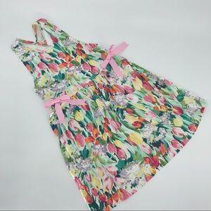She Shells Boutique Summer Tulip Floral Dress